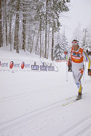 Björn Lind - Lind at FIS World Cup Cross Country - January 7–8, 2006 in Otepää, Estonia