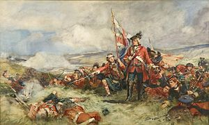 Black Watch - Black Watch at Fontenoy, 1745.