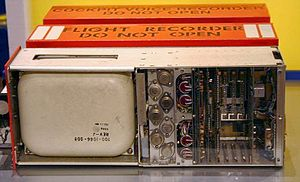 Flight recorder - A typical flight recorder