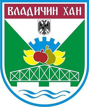 Vladičin Han - Image: Blason de Vladičin Han