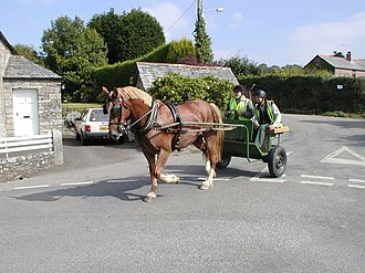Civil parishes in Cornwall - Image: Blisland, Horse and Riders. geograph.org.uk 224948