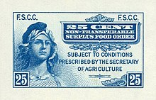 Blue Stamps Bought Only Surplus Foods Dairy Products Eggs Citrus Fruits Prunes And Fresh Vegetables