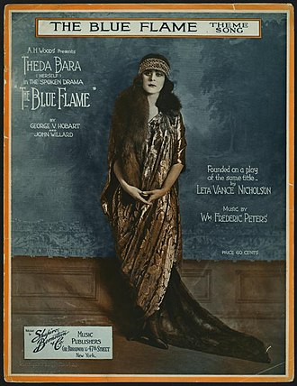 The Blue Flame (play) - A theme song for the play was published in April 1920.