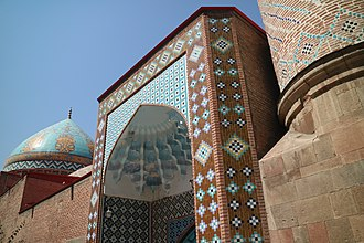 Blue Mosque, Yerevan - Image: Blue Mosque side view 2
