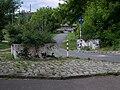 Blumenschalensperre Dolomitenstraße Ecke Esplanade Mai 2009 104 8730.JPG