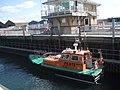 Boat in locks - geograph.org.uk - 1484703.jpg