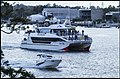 Boats going to see Brisbane River Fire-1 (21541296509).jpg