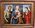 Boccaccio boccaccino, madonna in trono tra i ss. giovanni battista e caterina d'alessandria, 1504-05 ca. 01.JPG