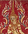 Bodhisattva art detail, from- Devas (minor divinities) accompanying a bodhisattva Wellcome L0030818 (cropped).jpg