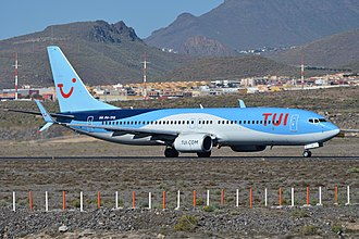 TUI fly Netherlands - TUI fly Netherlands Boeing 737-800