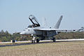 Boeing FA-18F Super Hornet Taxi Out 06 TICO 13March2010 (14599415035).jpg