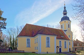 Dahlen, Saxony - Image: Boerln Kirche 1