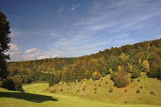 Mehrstetten - Böttinger Tal Nature protective area