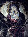 Bogorodica naslikana na karpa vo blizina na manastirot Joakim Osogovski, Kriva Palanka.jpg