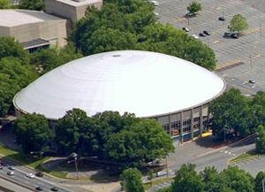 Bojangles' Coliseum - Bojangles' Coliseum in 2007