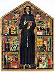 Saint Francis of Assisi and scenes of his life