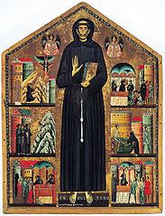Saint François et six scènes de sa vie