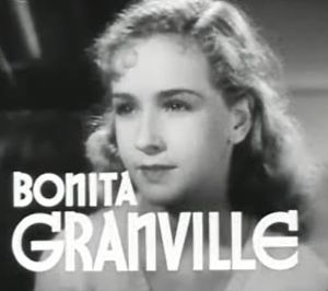 Bonita Granville - from the trailer for the film  The Beloved Brat (1938)