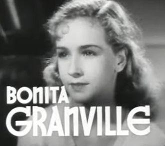 Bonita Granville - from the trailer for the film  The Beloved Brat (1938)