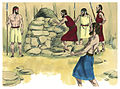Book of Joshua Chapter 10-5 (Bible Illustrations by Sweet Media).jpg