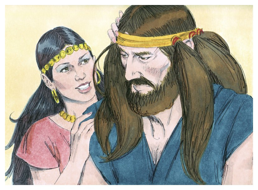 Book of Judges Chapter 16-3 (Bible Illustrations by Sweet Media)