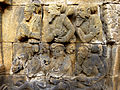 Borobudur - Divyavadana - 010 E, The Chaplain advises the King to sacrifice Manohara (detail 2) (11703701884).jpg