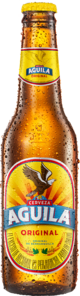 Botella Águila Light - Cerveza Colombiana