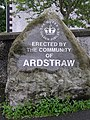Boulder with inscription, Ardstraw - geograph.org.uk - 1450444.jpg