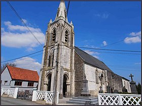 Eglise de Bourthes