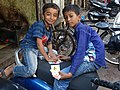 Boys Playing Cards - Kalbadevi District - Mumbai - Maharashtra - India (26358729861).jpg