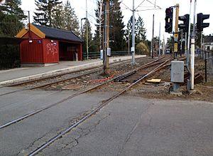 Bråten (station) - Image: Bråten