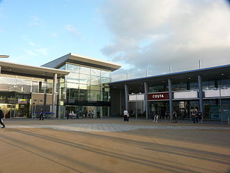 Bradley Stoke - Willow Brook Centre, the town centre.