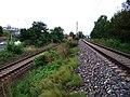 Braník, železniční tratě pod Vrbovou ulicí.jpg