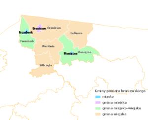 Braniewo County - Image: Braniewski