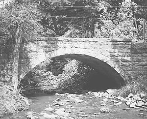 Bridge in Jenner Township - Bridge in Jenner Township, 1982