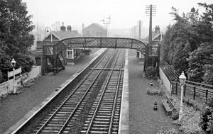 Bridge of Earn - Until 1964, Bridge of Earn had a railway station opened by the North British Railway