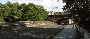 A643 road - Image: Brighouse bridge 019