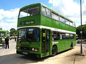 Leyland Olympian - Preserved Bristol Omnibus Company Roe-bodied Leyland Olympian in August 2011