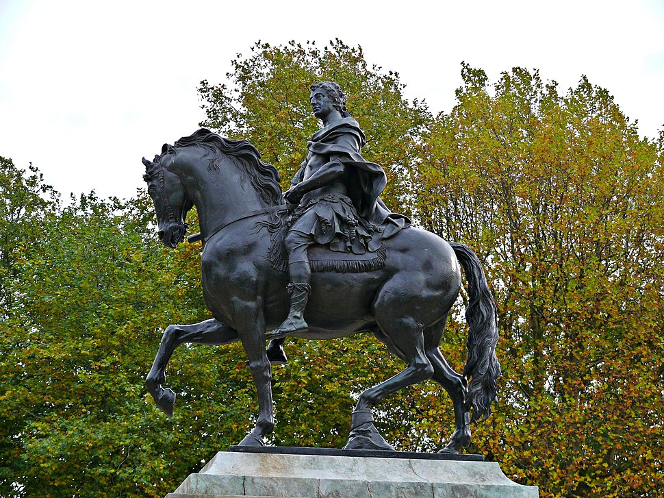 Bristol statue william III 2
