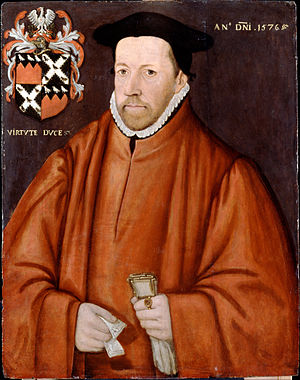 William Lovelace (MP) - Portrait of William Lovelace, 1576