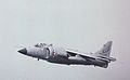 British Aerospace Sea Harrier FRS1 XZ455 - 712 Royal Navy, Farnborough UK, September 1988. (5589300907).jpg