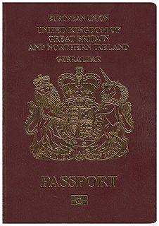 British passport (Gibraltar)