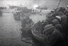 British troops evacuating from Dunkirk