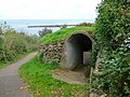 Brixham - Entrance To The Gun Emplacement - geograph.org.uk - 1625380.jpg