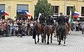 Brno, náměstí Svobody - mezinárodní policejní mistrovství ČR v jízdě na koni - příjezd a defilé soutěžních ekvip obr22.jpg