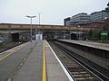 Bromley South stn slow eastbound platform looking west.JPG