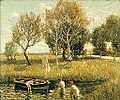 Brooklyn Museum - Boys Bathing - Ernest Lawson - overall.jpg