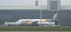 Brussels VLM Airlines Airbus A320 OO-TCT