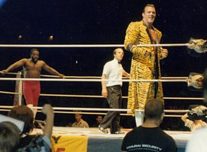 Junkyard Dog - Junkyard Dog and Brutus Beefcake in Sydney in the mid to late 1980s