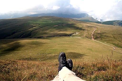 Bucegi Romania feet